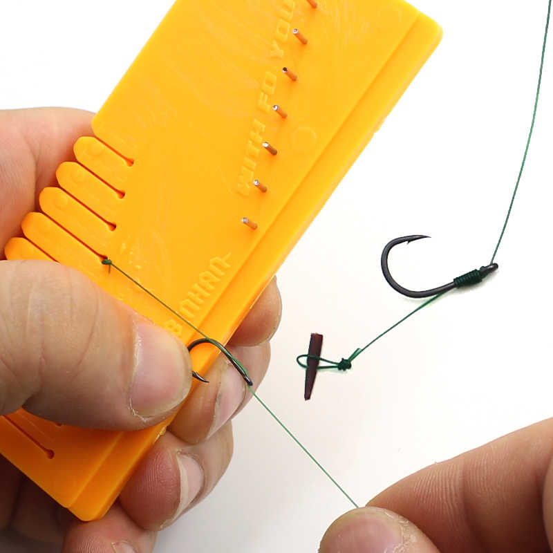 1 PCS Tool Carp Fishing Coated Braid Stripper Rig Remove Coated Hooklink Cutter
