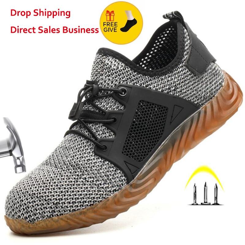 Sneaker Indestructible Steel Toe