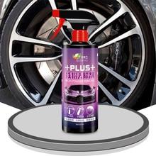 Środek do pielęgnacji karoserii czyszczenie natryskowe powłoka szklana 500ml płyn czyszczący obręcz koła samochodu środek czyszczący myjnia samochodowa pielęgnacja obręczy
