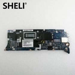 SHELI dla Dell XPS 13 9350 Laptop notebook płyta główna 6D13G 06D13G CN 06D13G SR2JB i7 6560U CPU 8GB pamięci RAM AAZ80 LA C881P test ok w Płyty główne od Komputer i biuro na