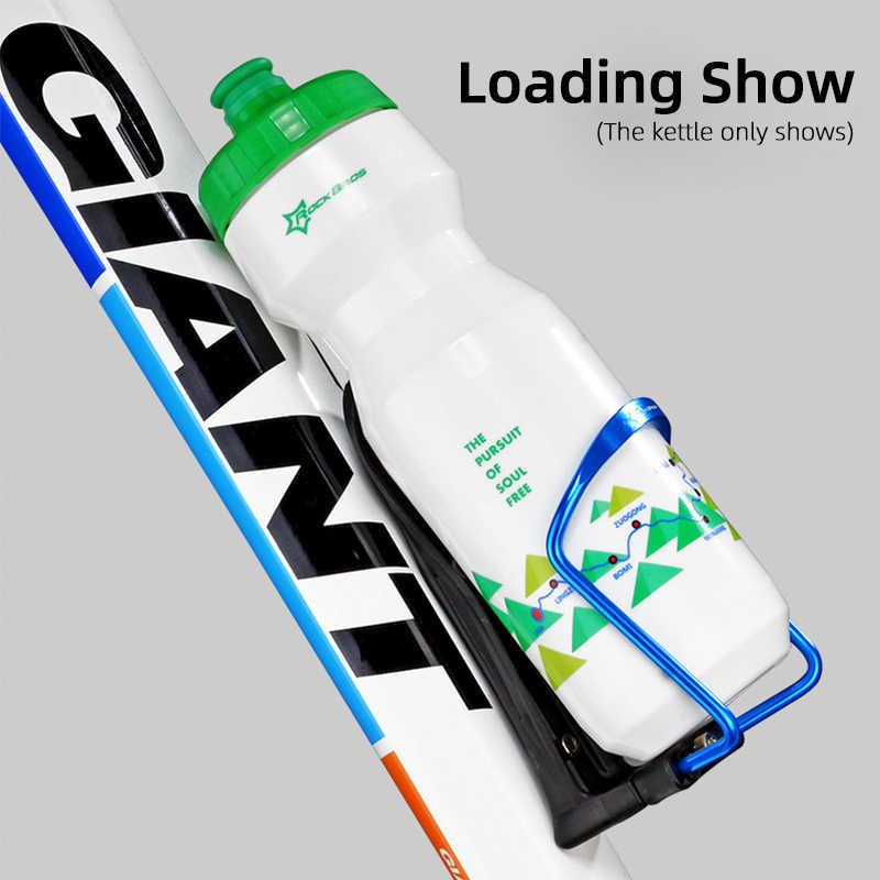 ROCKBROS Fahrrad Einstellbare Wasser Flasche Käfig MTB Bike Radfahren Flasche Halter Aluminium Legierung Ultraleicht Lenker Halterung Ständer