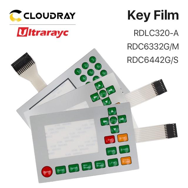 Ruida Membraan Schakelaar voor RDLC320 A RDC6332G RDC6332M RDC6442S RDC6442G Sleutel Film