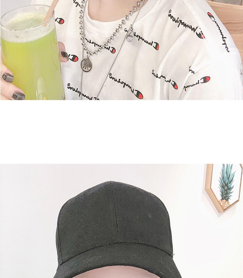 Peruca de cabelo reta sintética com chapéu
