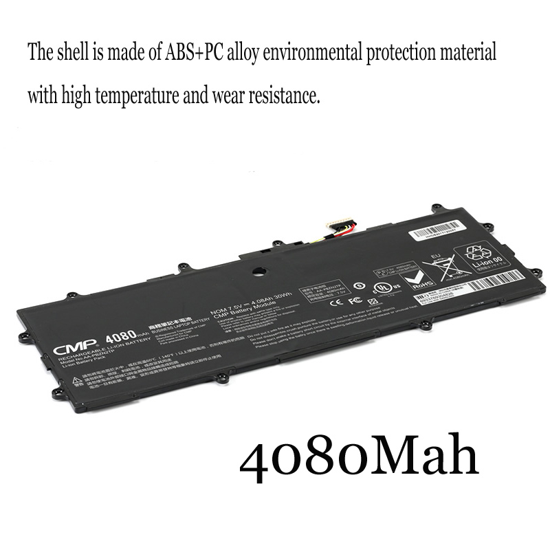 1PC New Laptop Battery Internal For <font><b>Samsung</b></font> <font><b>905s3g</b></font> XE500T1C NP910S3G 915s3g K05CN AA-PBZN2TP image