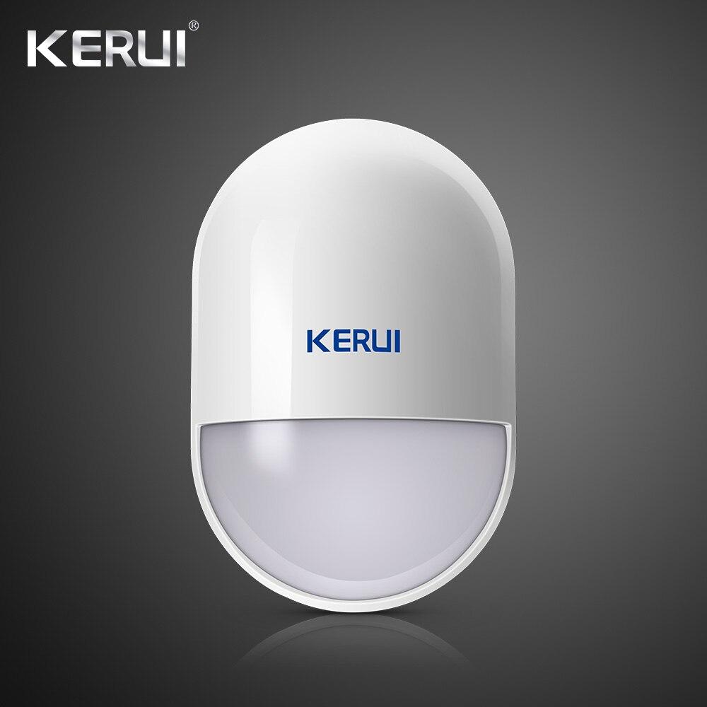 KERUI P829 Wireless Motion PIR Detector Movement Sensor For Wifi GSM PSTN Home Security Voice Alarm System