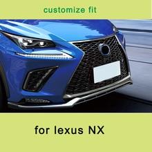 Lsrtw2017 для Lexus NX NX200 NX300 NX300h Передняя решетка автомобиля планки средняя сетка декоративные внутренние молдинги аксессуары