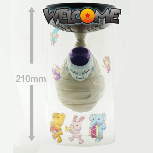 Image 1 - Tronzo Daruma Design Dragon Ball Super Freeza In Hell PVC Action Figure Funny Decoration Freeza Lamp Light Model Toys Gifts