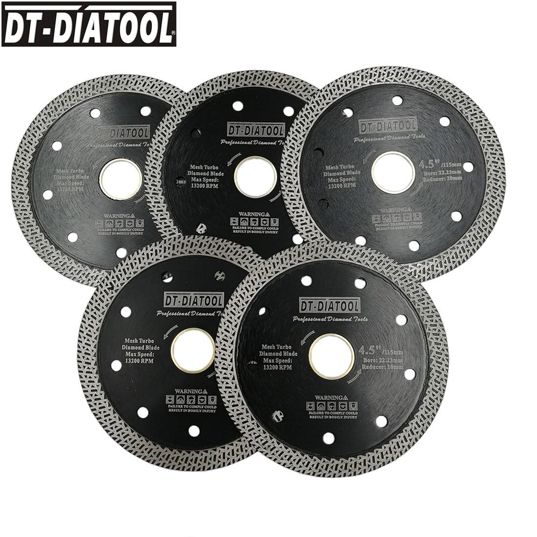 DT-DIATOOL 5pcs 105mm/4