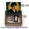Французская музыкальная шкатулка Amelie с мотивом фильма «La Valse», музыкальная шкатулка, музыкальная шкатулка для кинофанатов, Новогодние рожд...