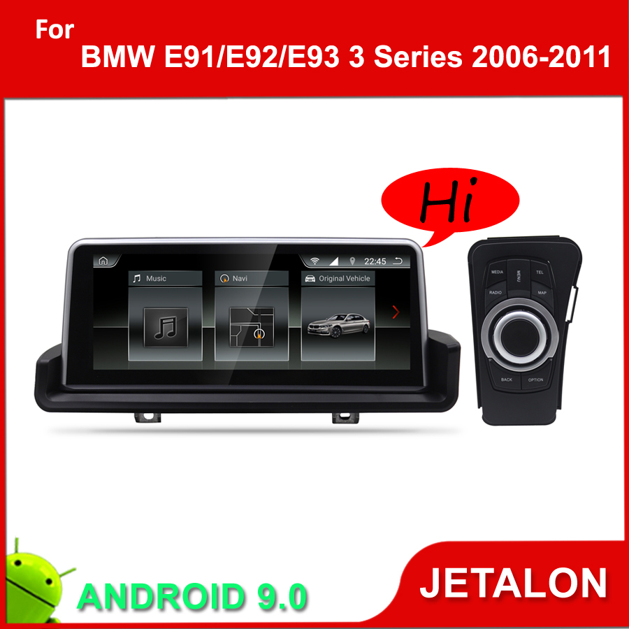 JETALON Car Multimedia Player For <font><b>BMW</b></font> 3 Series <font><b>E90</b></font> E91 E92 E93 GPS <font><b>Android</b></font> 9.0 Navigation <font><b>10.25</b></font> Inches Screen Monitor 2006-2011 image