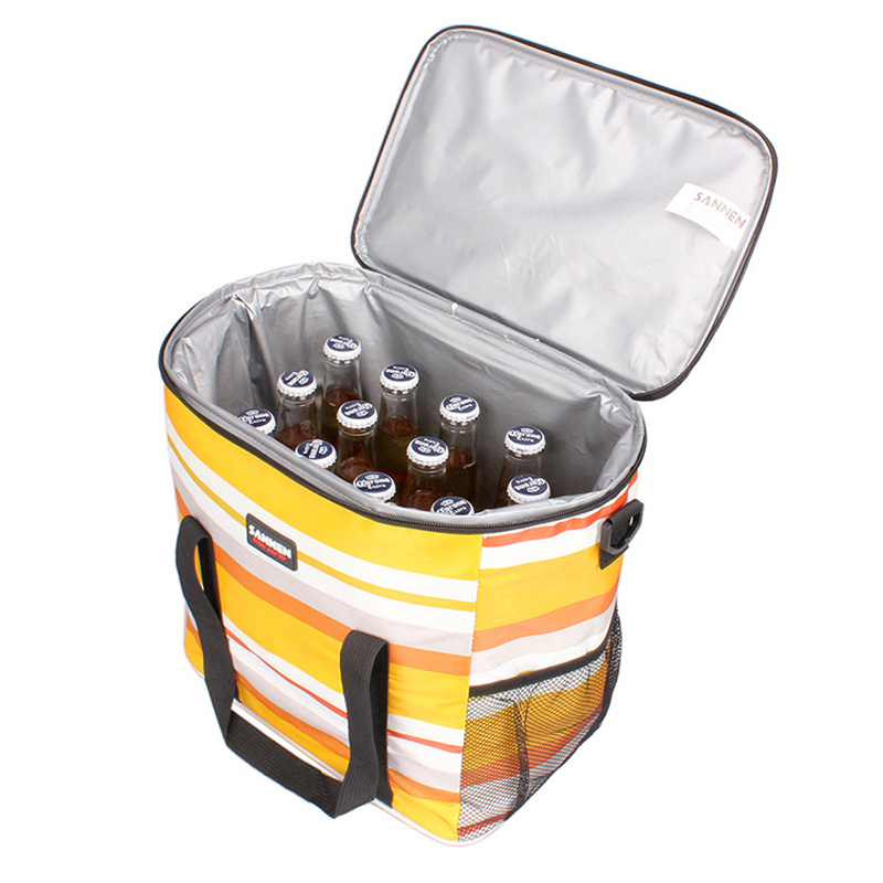 Outdoor Cooler Beach Bag Waterproof Picnic Lunch Ice Food Bag Insulated Portable Thermal Cooler Bag in Picnic Bags from Sports Entertainment