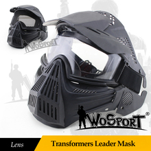 Wosport Military Mask Lent Full Face Tactical Helmet In The Free Air Rescue Cs Airsoft Army Hunt Universal Men