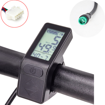 Electric Bike Display KT LCD4 E-bike LCD 36V 48V Ebike Computer for E Kunteng Controller SM or Waterproof Connector