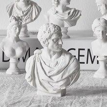 ギリシャ神話フィギュア石膏バストミニ石膏像描画練習有名な彫刻工芸家の装飾