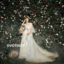 Dress Photo-Clothes Photography-Props Dvotinst Studio Maternity-Dresses Pregnancy-Elegant