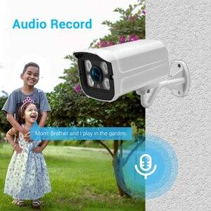 Image 2 - Hamrolte IP Camera SONY IMX335 Black Light 5MP ONVIF Outdoor Camera Audio Record Ultra Low Illumination Email Alert Xmeye H.265