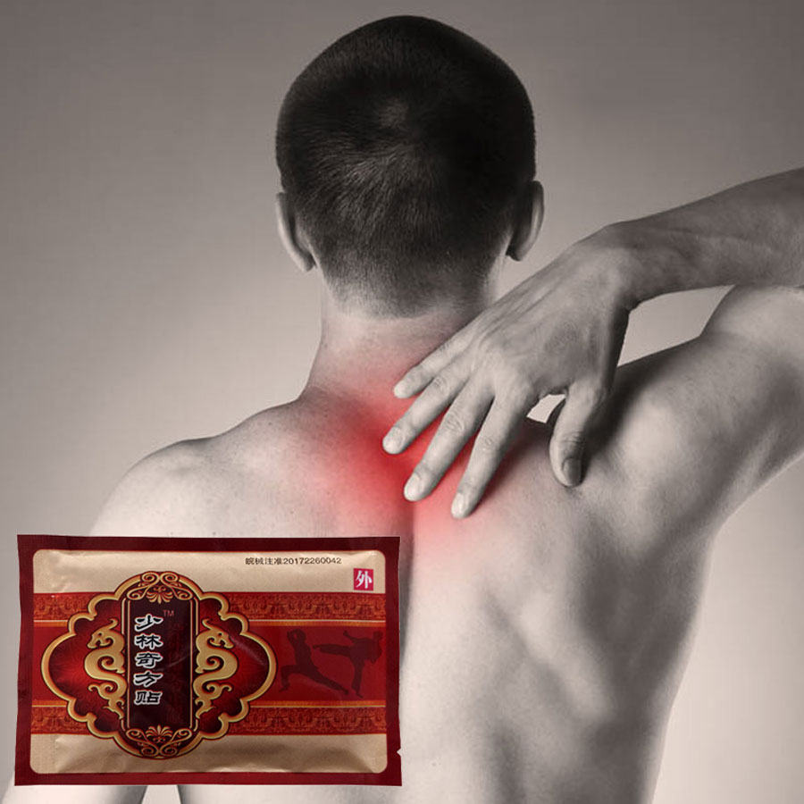 24Pcs Chinese Medicines Heating Analgesic Plaster Shaolin Joint Pain Patch Neck Back/Foot Body Pain Massage Care