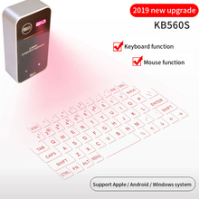 Bluetooth Wireless Virtual Laser Mini Keyboard Projection Keypad Launchpad For Phone Computer Numpad With Mouse Function smartphone infrared wireless speaker bluetooth laser projection virtual invisible keyboard high tech electronics