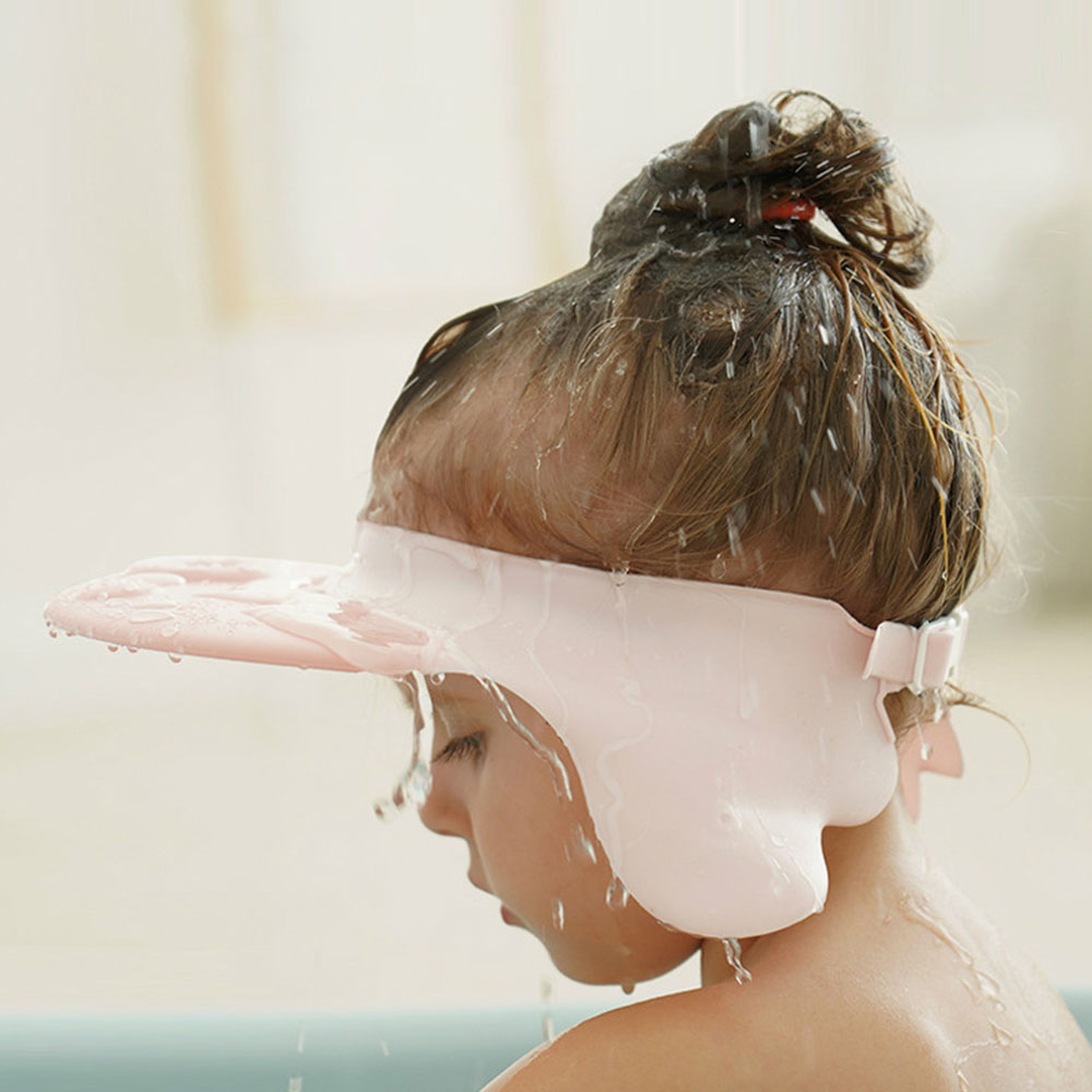 Baby Shampoo Cap Cute Wing Animal Baby Shampoo Hats Toddler Wash Hair Shield Kids Direct Visor Caps Bathing Shower Cap Baby Care 1
