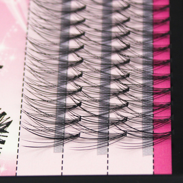 60pcs Individual Cluster Eye Lashes Professional Makeup Grafting Fake False Eyelashesfor eyelash extensions false eyelashes tabs 1