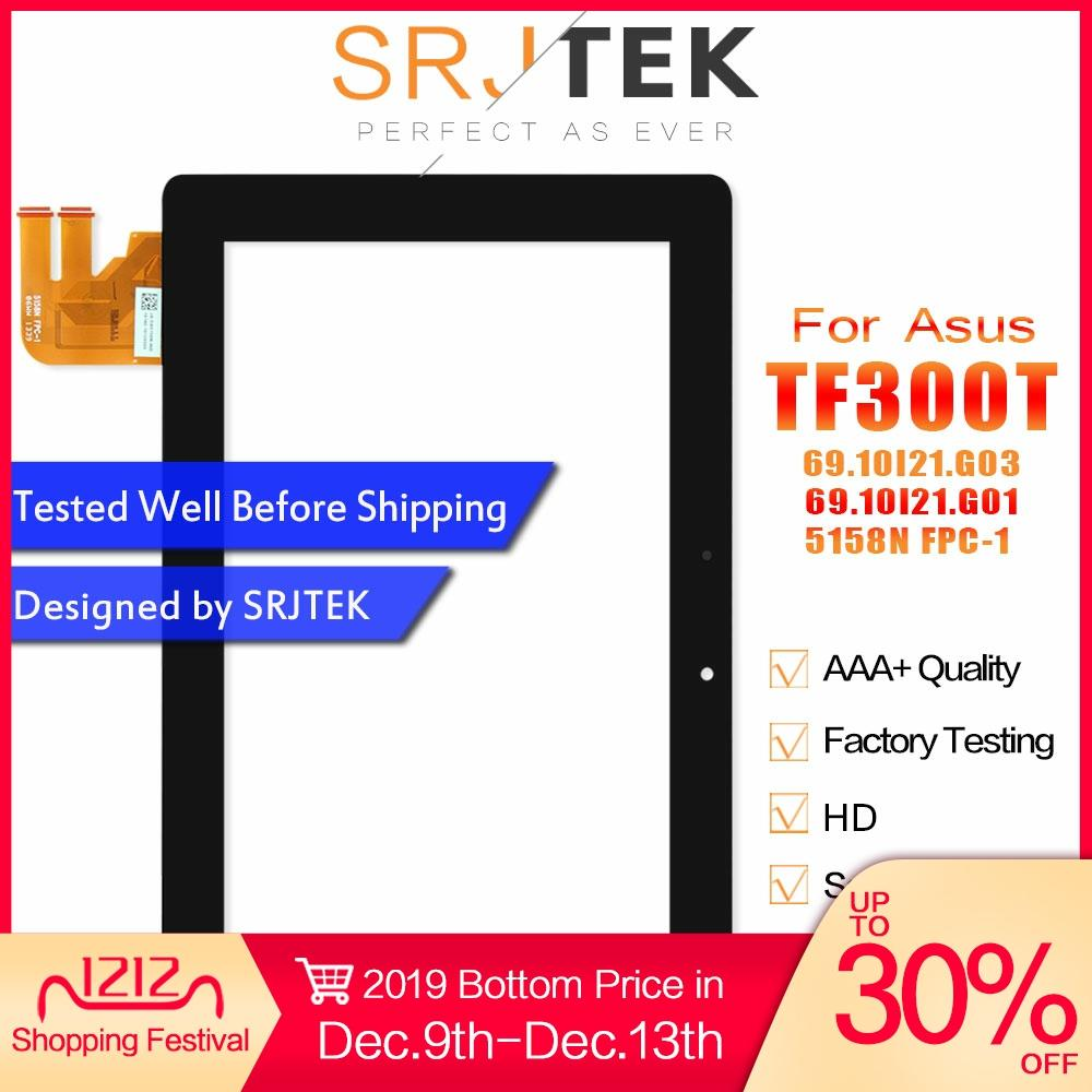 For Asus Transformer Pad TF300 TF300T TF300TG TF300TL 69.10I21.G03 G01 5158N FPC-1 Touch Screen Panel Digitizer Glass Sensor
