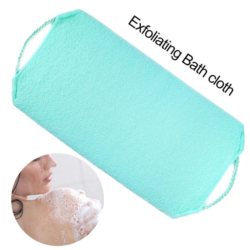 1pc Stretchable Body Clean Exfoliating Neck Back Scrubber Shower Bath Cloth Tool Washcloth 6