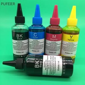 5 бутылок PGI-550 CLI-551 съедобные чернила для Canon PIXMA IP7250 IP8750 MG5450 MX725 MX925 MG6450 MG5550 IX6850 MG5650 PGI550 CLI551