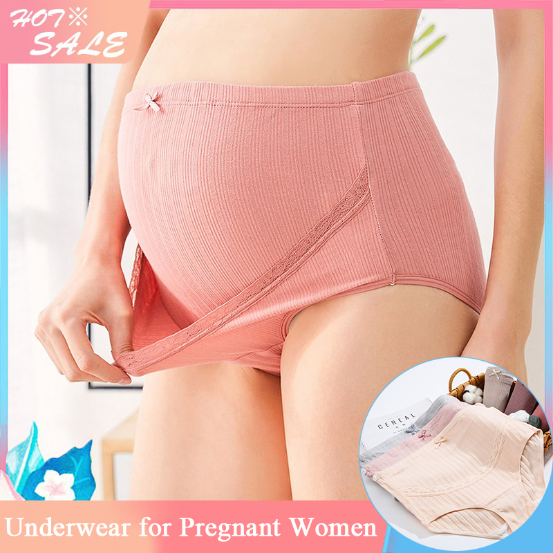 Cartoon Printed Cotton Maternity Panties High Waist Adjustable Belly Underwear Clothes for Pregnant Women Pregnancy Briefs