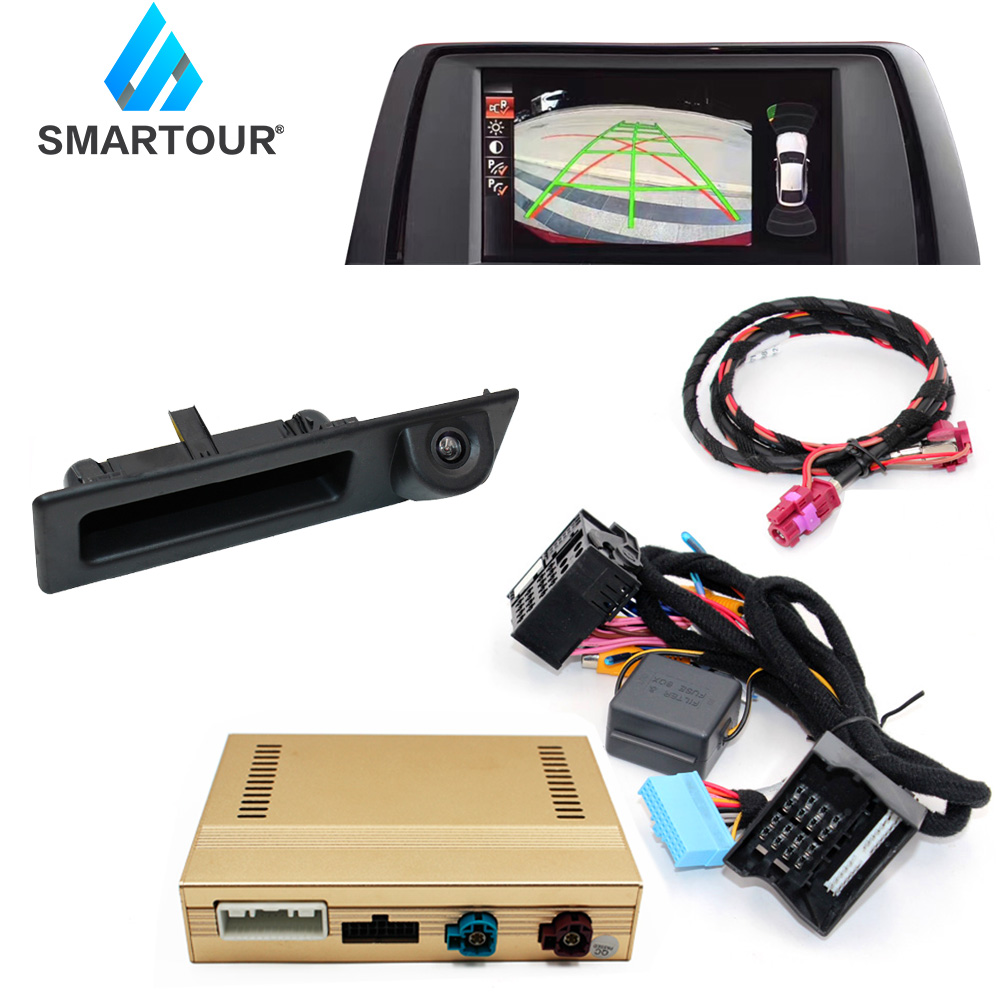 Smartour Original Screen Update System For BMW 3 F30 F31 F34 2013~2017 NBT System / Reversing Module Rear Camera Decoding Track