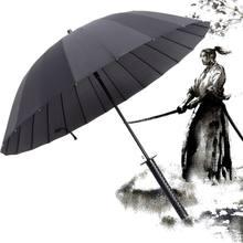 Nova espada samurai lidar com guarda-chuva ninja katana japonês longo guarda-chuva navio da gota