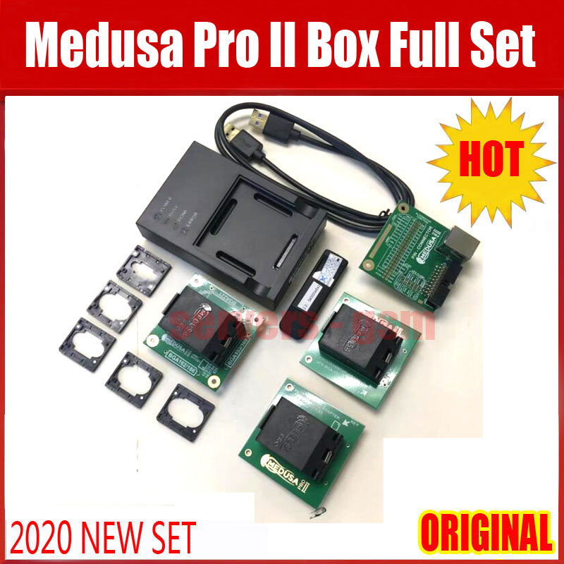 2020 Newest Original Medusa Pro 2 Full Set(UFS BGA-095 SOCKET + UFS BGA-0153 SOCKET +EMMC 4 IN 1 SOCKET )(China)