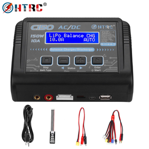 Image 1 - Hot Sale HTRC C150 Lipo Charger Battery Rc AC/DC 150W 10A RC Balance Discharger for LiPo LiHV LiFe Lilon NiCd NiMh Pb Battery