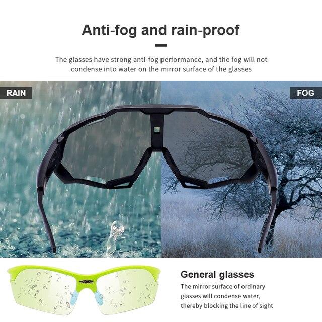 Uv400 ao ar livre anti-vento esporte óculos de sol eyewear colorido esportes ciclismo óculos de sol óculos de bicicleta 3