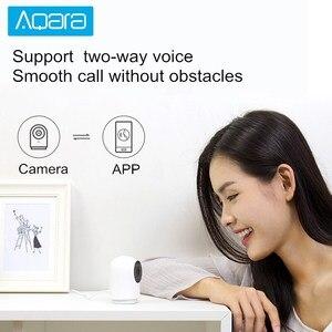 Image 2 - Aqara g2 gateway edição 1080p câmera ip inteligente zigbee ligação app controle sem fio nuvem dispositivo de segurança em casa