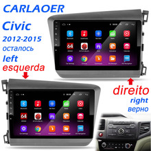 2 Din Autoradio Android 9.0 lecteur multimédia pour Honda Civic 2012 2013 2014 2015 stéréo vidéo Navigation Autoradio portugais