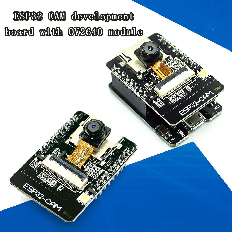 ESP32-CAM-MB ESP-32S Wi-Fi модуль Serial к Wi-Fi макетная плата 5V Bluetooth с OV2640 Камера Поддержка фото/видео Антенна