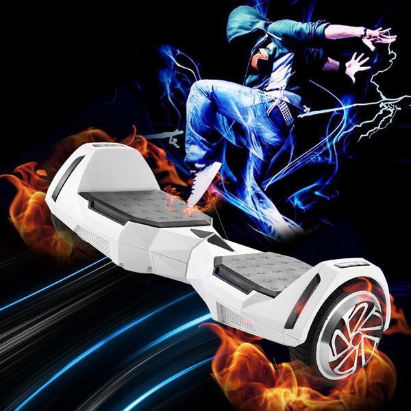 Штепсельная Вилка американского стандарта электрический скутер 6,5 дюймов 2-колесный самобалансирующийся скутер Максимальная нагрузка 130 к...