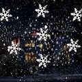 1 комплект рождественский снежинка лазерный свет снег проектор IP66 движущийся снег открытый садовый лазерный проектор лампа для Новогоднег...