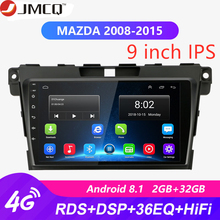 2DIN 9 Android 8.1 4G NET Car GPS Navigation Radio Multimedia Player For MAZDA CX-7 cx7 cx 7 2008-2015 RDS HiFi 36EQ 2 DIN DVD