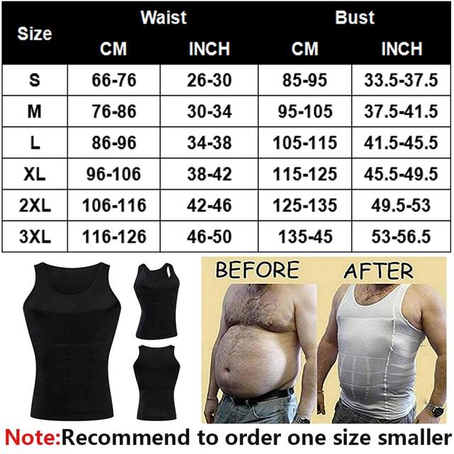 Майка мужская тренировочная с утягивающим эффектом для коррекции спины и живота для похудения 2