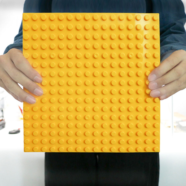 16*16 Duploe Plastic Classic Base Plates Bricks City Dimensions Building Blocks Construction Duploed Toys 16*16 Dots Toys