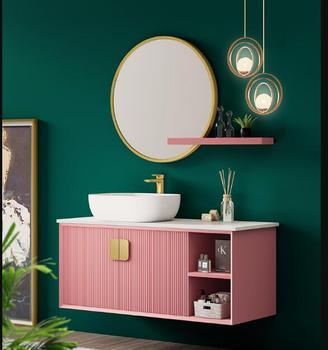 Połączenie nowoczesnej prostej umywalki umywalki szafki wiszącej umywalki toaletowej tanie i dobre opinie alleytoke ceramic
