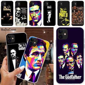 The Godfather Don Corleone Hard Phone Case For iphone 5C 5 6 6s plus 7 8 SE 7 8 plus X XR XS MAX 11 Pro Max image