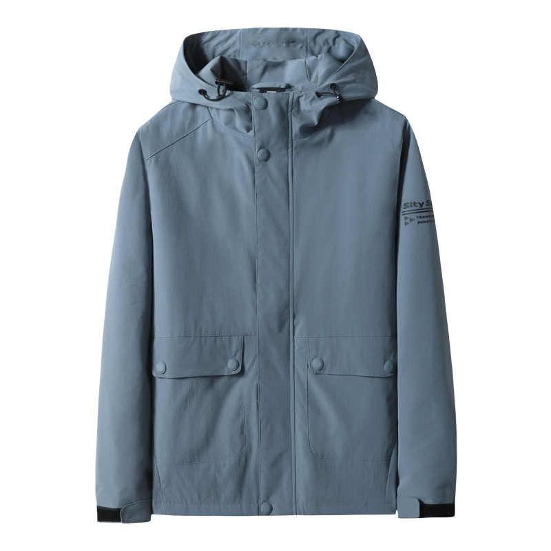 新しい 8XL 7XL 6XL プラスサイズ新カジュアルジャケット秋のコート男性スポーツウェアメンズ薄型スリムフィット用