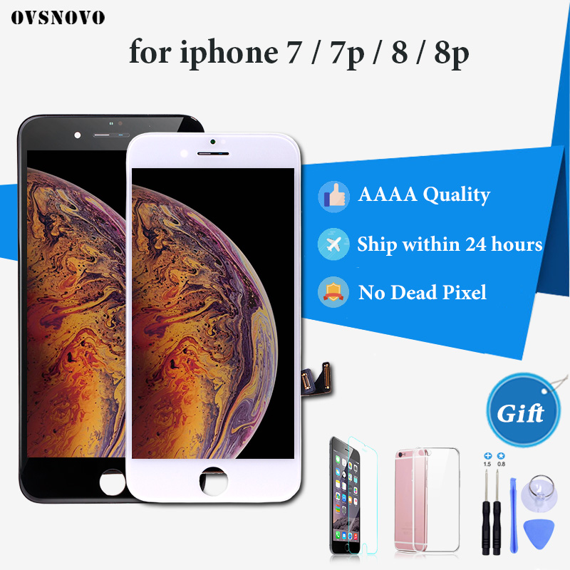 Retina Display For IPhone 8 LCD With 3D Force Touch Screen Digitizer Assembly For IPhone 7 8 Plus Screen Display Grade AAAA LCD