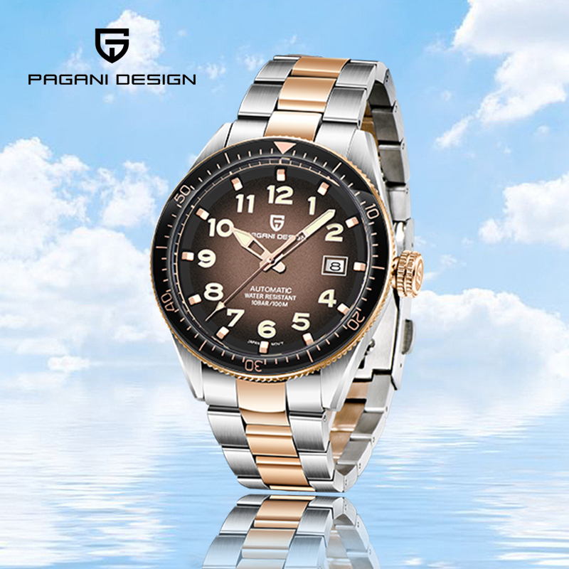 Watches For Men Pagani-Design Automatic Mechanical Business Watch Men Casual Sport 100M Waterproof Men's Watches reloj hombre
