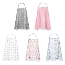 Breastfeeding Nursing Cover Adjustable Breathable Double Layer Privacy Feeding Apron Double-layer  windproof, dustproof