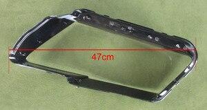 Image 5 - Audi için Q5 2010 2011 2012 far şeffaf kapak abajur lamba gölge lamba cam far kabuk Lens camı