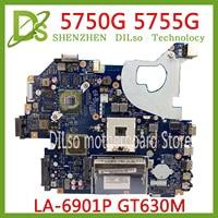 KEFU 5750 LA-6901P motherboard für acer 5755 5750G 5755G laptop motherboard GT630M original Test arbeit 100%