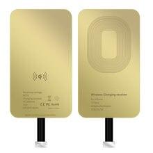 Qi беспроводной зарядный приемник адаптер для micro usb type